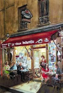 Peinture du Vieux Belleville