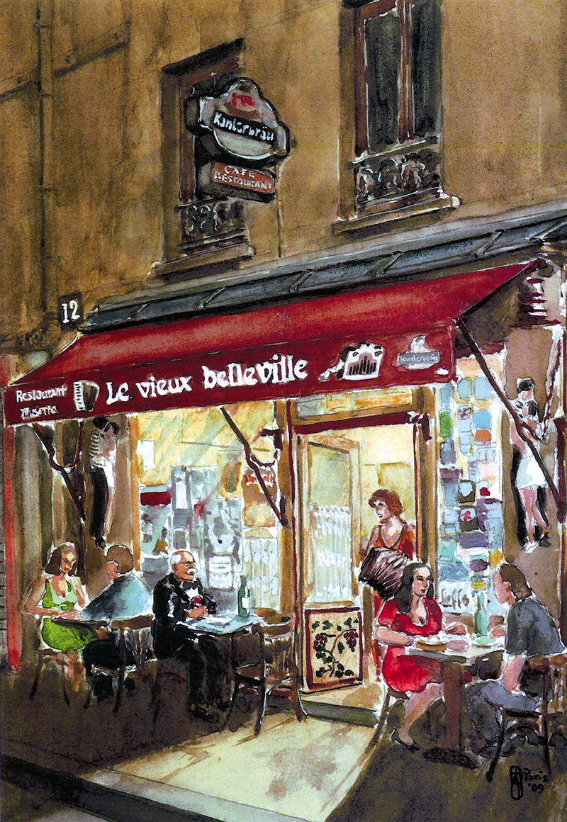 Restaurant Belleville Paris