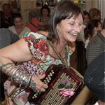 Minelle à l'accordéon