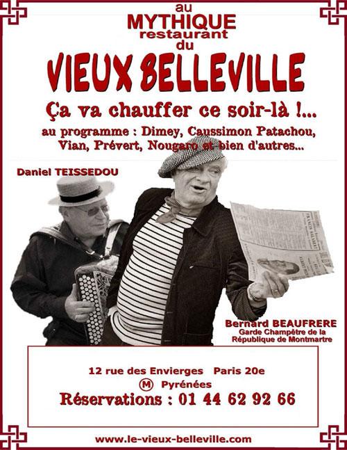 Daniel Teissedou et Bernard Beaufrère